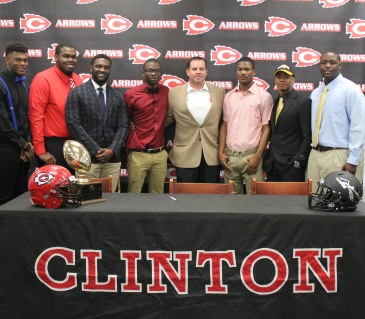 Seven Arrows signed letters of intent on National Signing Day. (Photo by Halle Johnson)